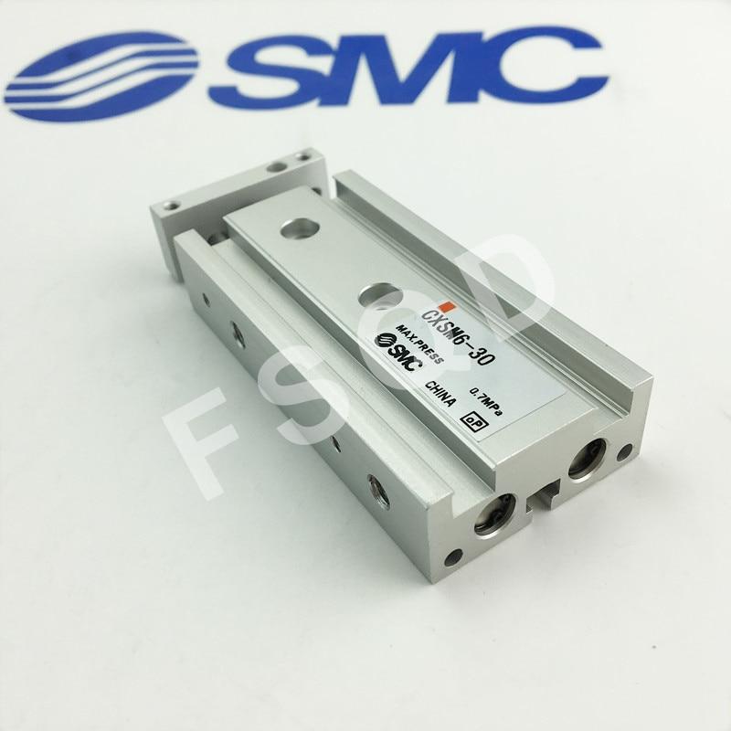 CXSM6 10 CXSM6 20 CXSM6 30 CXSM6 40 CXSM6 50 SMC Double pole cylinder Pneumatic components