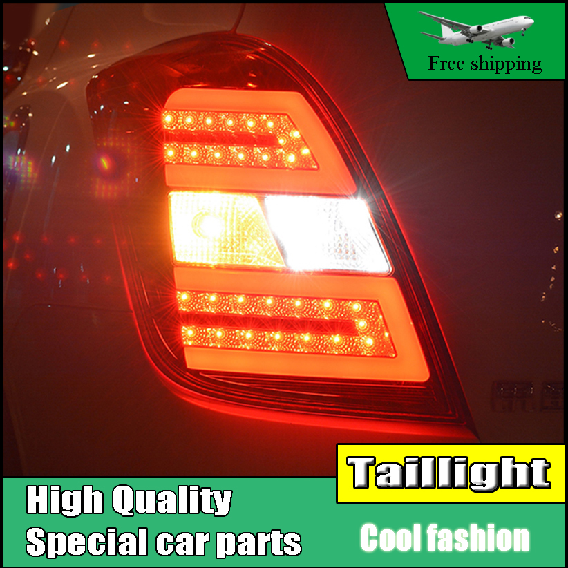 Car Styling Tail Lamp For Chevrolet Trax Taillights 2014-2016 LED Rear Light Tail Lamp DRL+Brake+Park+Signal Stop light auto clud car styling for chevrolet lacetti taillights 2008 2014 new lacetti led tail lamp rear lamp drl brake park signal led l