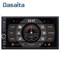 Dasaita 2 DIN Android 8,0 авто радио Octa Core 7 дюймов Универсальный Автомобильный нет dvd плеер gps стерео аудио глава блок Поддержка DAB DVR OBD