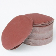 50pcs/set 6 inch Round sandpaper Disk Sand Sheets Grit 60/120/150/180/240/320 Hook & Loop Sanding Disc for Sader Grits