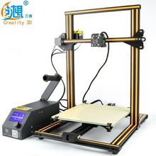 Free Shipping 2017 Newest 3 D Metal Printer Creality CR-10s Big Print Size 400*400*400mm DIY 3D Printer Kit With Free Filaments