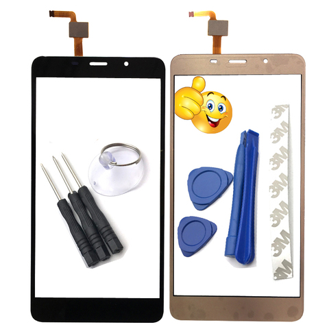 5.7 inch Mobile Phone Touchscreen For Leagoo M8 Touch Screen Glass Digitizer Panel Lens Sensor Glass Adhesive Gift For M8 Pro Pakistan