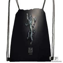 Custom Game of Thrones Drawstring Backpack Bag Cute Daypack Kids Satchel Black Back 31x40cm 180611 01