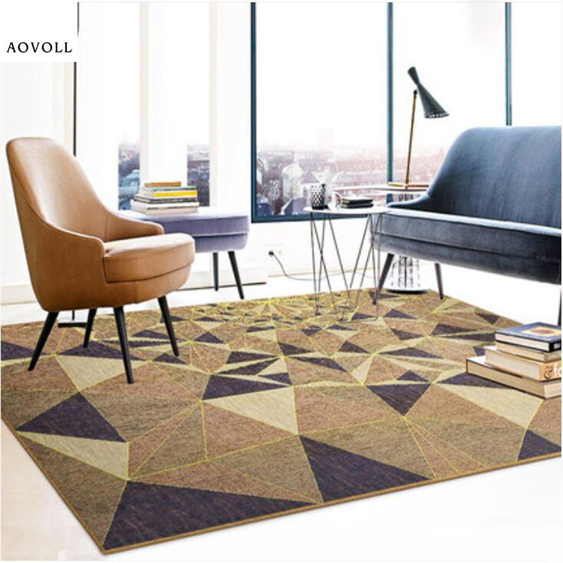AOVOLL 2018 New Creative Soft Carpets For Living Room Bedroom Kid Room Rugs Home Carpet Floor Door Mat Chenille Soft Area Rug
