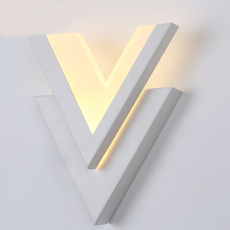 SinFull Modern Brief Led 9w Wall Lights Acrylic Bedside white Wall Sconces Stair bedroom asile balcony 90-260V lighting lamp vemma acrylic minimalist modern led ceiling lamps kitchen bathroom bedroom balcony corridor lamp lighting study