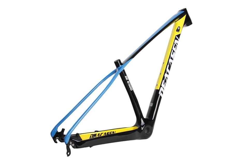 Straße Fahrrad Lenker Integrierte Griff bar Carbon Faser 3 karat ...