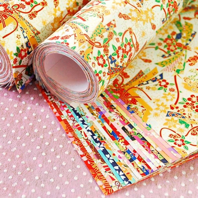Охраны окружающей среды Materia золотой линии оригами Бумага цветок подарочная упаковка материалы, декоративные Бумага аксессуары