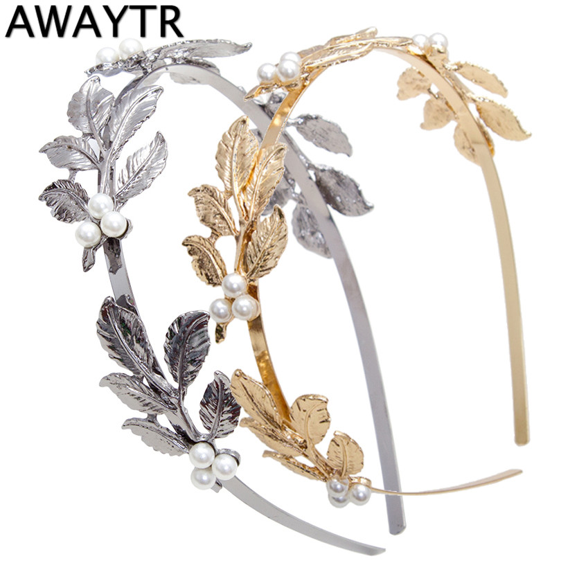 Humor Leaf French Barrette Hair Clip Exquisite In Workmanship