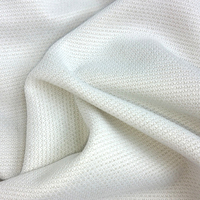 Copper Nylon Polyester Intertwined Double Meshanti Bacterial Anti Foul Fabric For Shoe S Lining