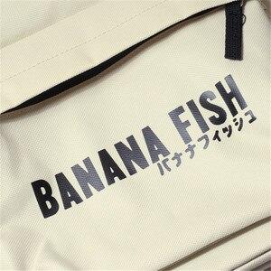 Image 4 - Mochila con dibujos de peces y plátano para hombre y mujer, Mochila Escolar de Oxford para Cosplay, bolso de viaje para Mochilas grandes y adolescentes