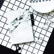 Білий мармуровий мод Creative PU журнал обкладинка Hobonichi модний костюм для стандартної A5 A6 внутрішньої книги