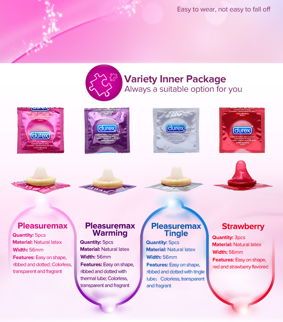 Ihrtrade Durex Magic Condom XXL Large Size Spike Ultra Thin Sex Products Natural Rubber Cock Sleeve Intimate Goods Sex For Men Adult