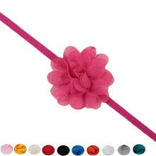 Hot Colorful 11 Colors Cute Lovely Design Kids Headband Lace Flower Hair Band 2017 Hot New