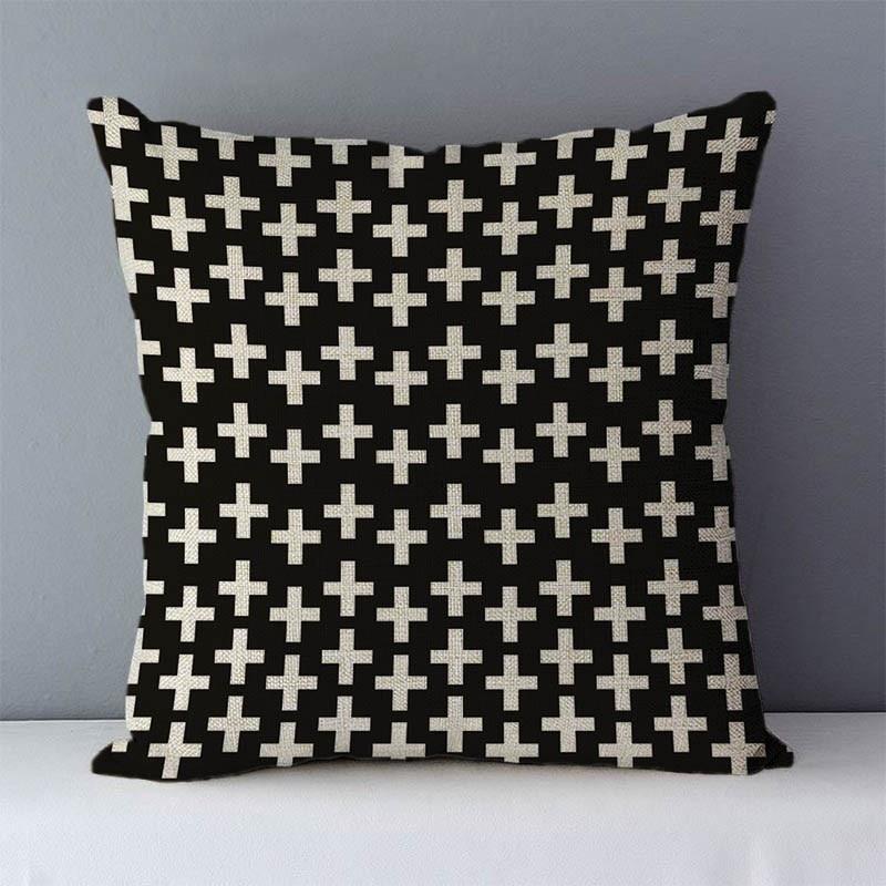 HTB1i29jXdjvK1RjSspiq6AEqXXa7 Quality Cozy Popular geometric couch cushion home decorative pillows cotton linen 45x45cm seat back cushions bedding pillowcase