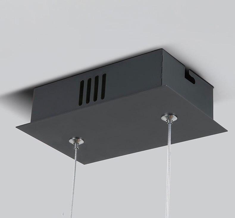 sala de jantar cozinha suspensão luminária nova