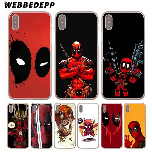 custodia iphone x deadpool