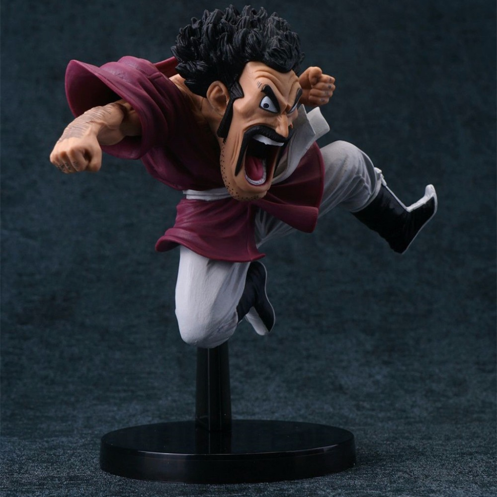 Anime Dragon Ball Z DBZ Mr Satan PVC Action Figure Juguetes Dragonball Figures Doll Resin Collection Model Toys Gift christie brown повседневные брюки