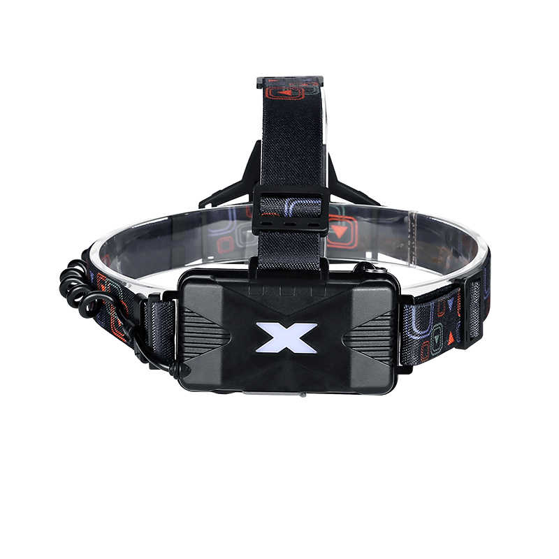 Linterna frontal YAGE YG-608C USB linterna Led para cabeza linterna frontal linterna Led linterna de pesca seis modos para batería 18650