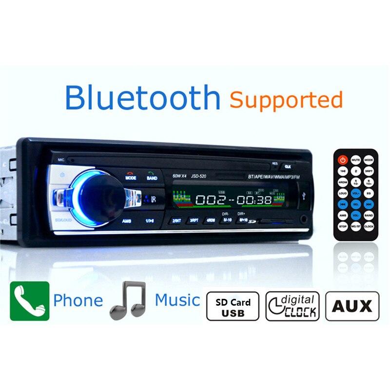 JSD520 Autoradio autoraadio 12V Bluetooth V2.0 autostereo - Autode Elektroonika - Foto 3