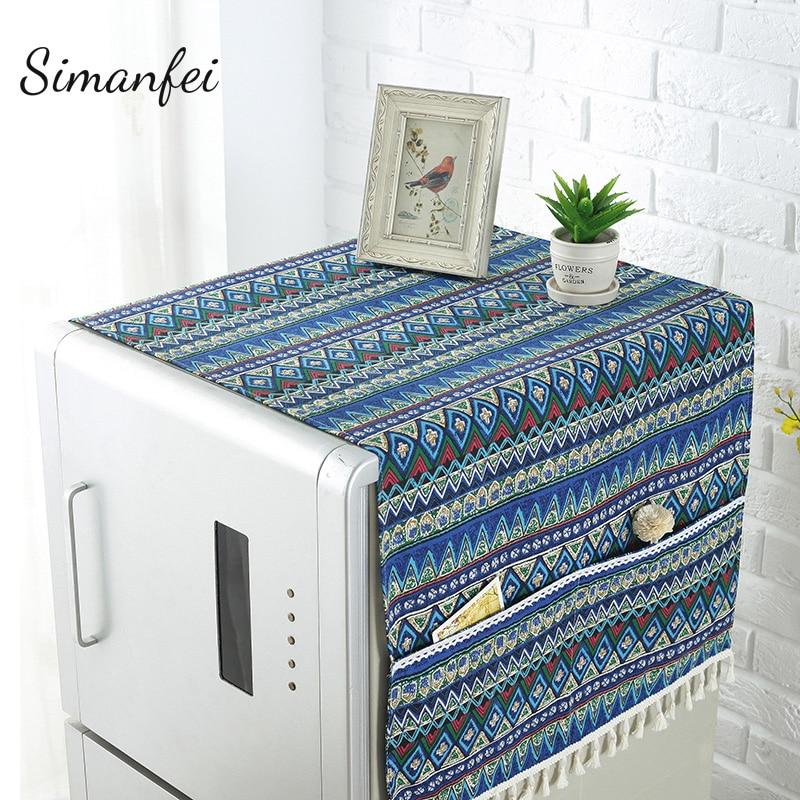 Simanfei Waterproof Refrigerator Covers Anti-dust Microwave s