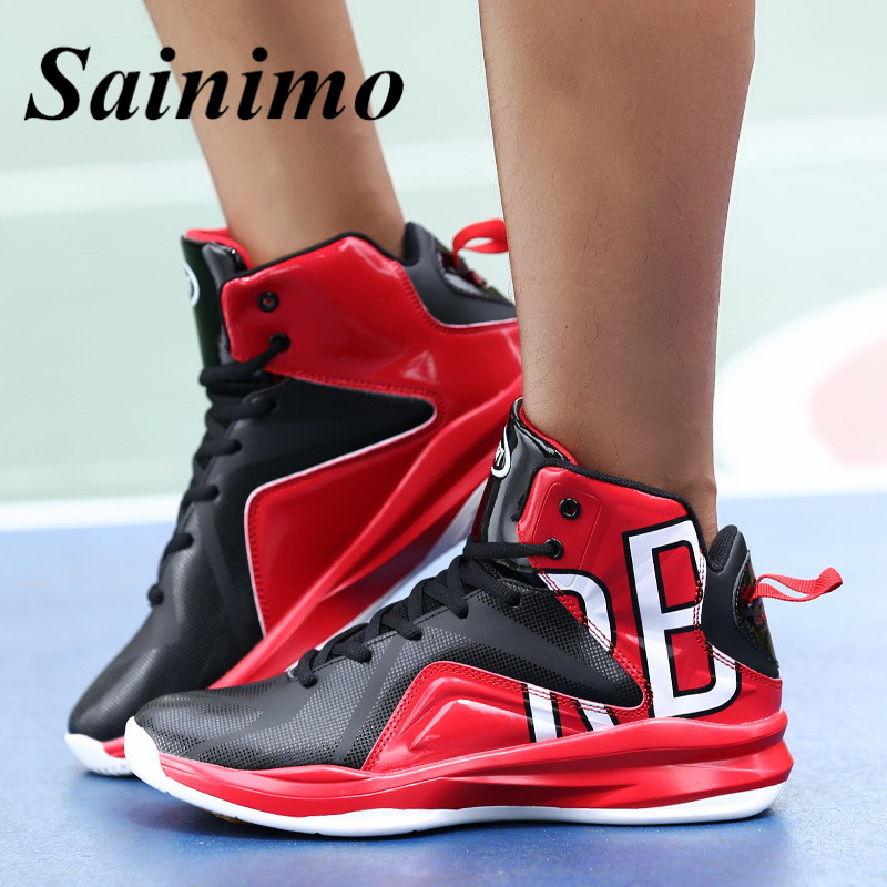 8a4aeb325da2e0 2018 New Men sneakers Basketball shoes men boots Sport shoes basket homme  baloncesto jordan basquete large size 39 46-in Basketball Shoes from Sports  ...