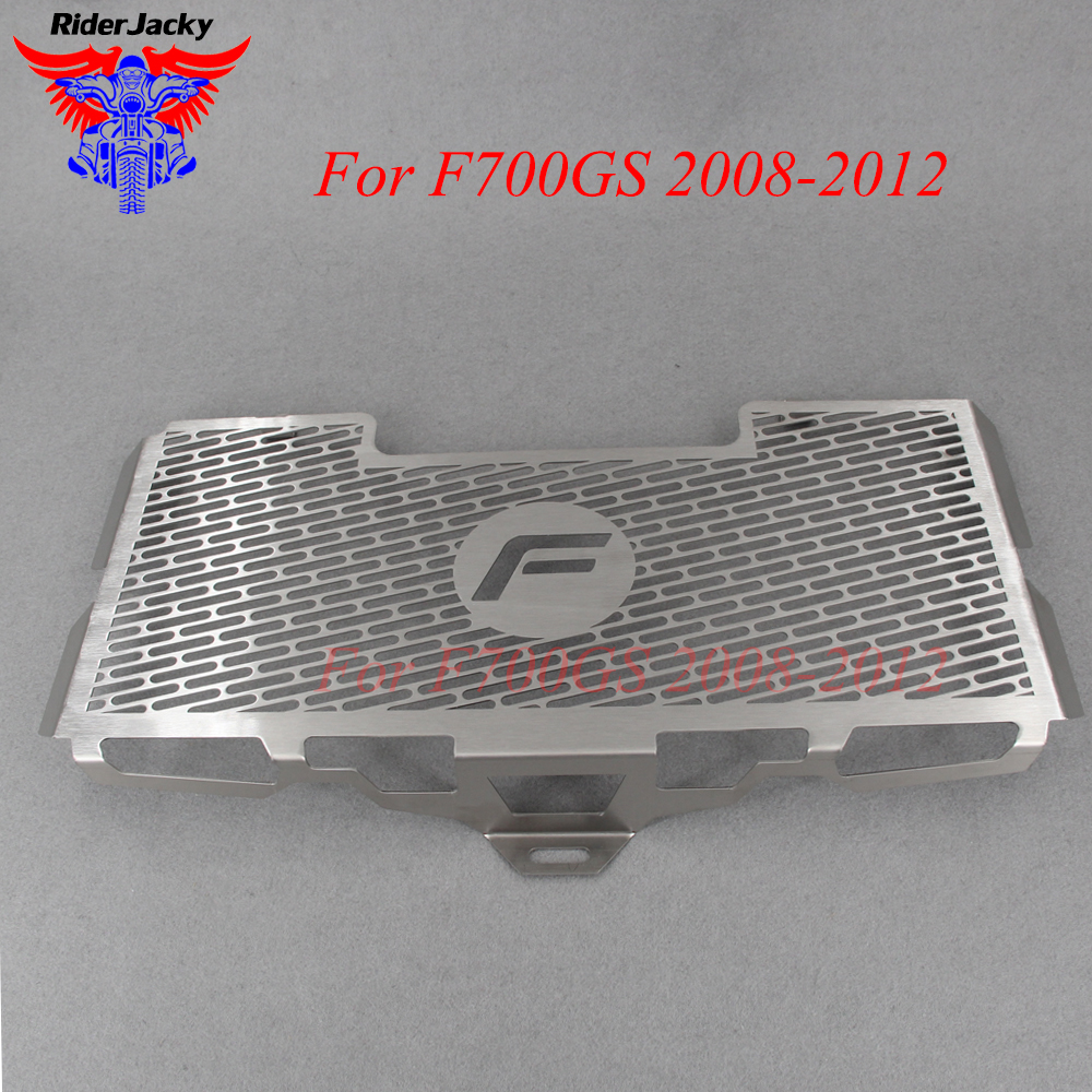 For BMW F700GS 2008 2012 2011 2010 2009 F700 GS Radiator Grille Guard Cover Protector Motorcycle Stainless Steel