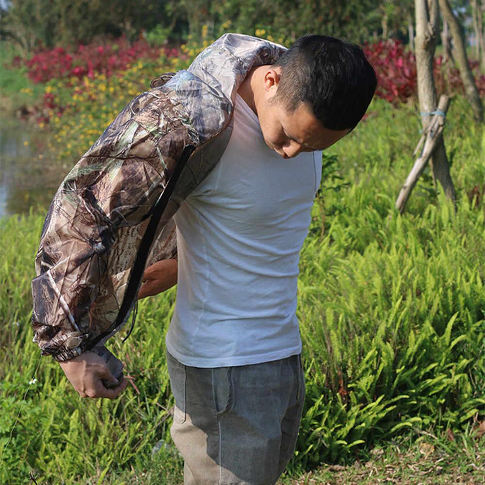Ultra-Dunne Huid Bionische Camouflage Jacht Jas Zomer Wateproof Vissen Capuchon Boom Camo Outdoor Zonnebrandcrème Hooded Top