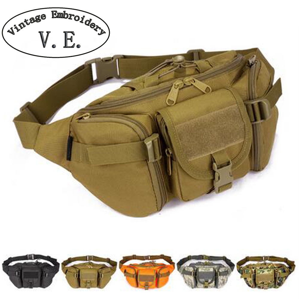 Waterproof men Waist bags Hip Package pochete casual Fanny Pack travel large army waist pack цена 2017