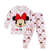 The love of cat and mouse 2017 children baby kids kid boy girl boys girls underwear cotton suit long