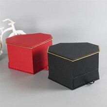 Heart Diamond Drawer Flower Box Chocolate Soap Gift Customized