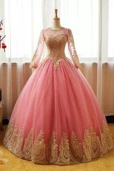 100% vestido medieval de Bordado dorado rosa claro real vestido renacentista Sissi princesa victoriana gótica/Marie Belle Ball