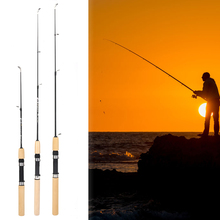 Winter Shrimp Ice Fishing Rod Pole Portable Fishing Rods Spinning Casting 3 Sections Fish Pole Pesca 60cm 80cm 100cm