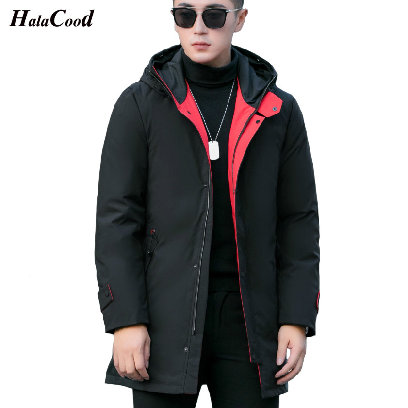 Hot Fashion Winter Big Genuine Hooded Duck   Down   Jackets Men Warm High Quality   Down     Coats   Male Casual Winter Outerwer   Down   Parkas