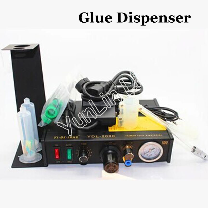 Automatic Glue Dispenser Plastic Injection UV Solder Paste Liquid Controller Foot Switch Control 220V YDL-2000 liquid injection kits are used in two stage refrigeration plant to control liquid injection into the intercooler