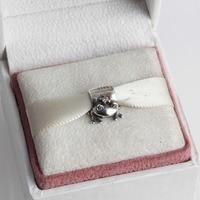 Fits Pandora Original Charm Bracelet DIY Making Authentic 925 Sterling Silver Bead Princess Frog European Charm