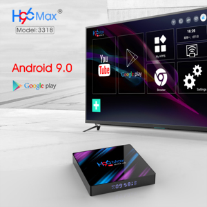 Image 2 - H96 MAX Smart Android TV Box 9.0 RK3318 4GB Ram 32GB 64GB  Google Voice Youtube 4K Bluetooth 2.4G/5G Wifi Box Smart Box