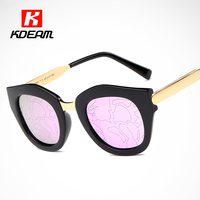 Futuristic Polarized Sunglasses Women Mirrored Lenses Reflecting Pattern Polaroid Glasses Steampunk Goggles Include Package