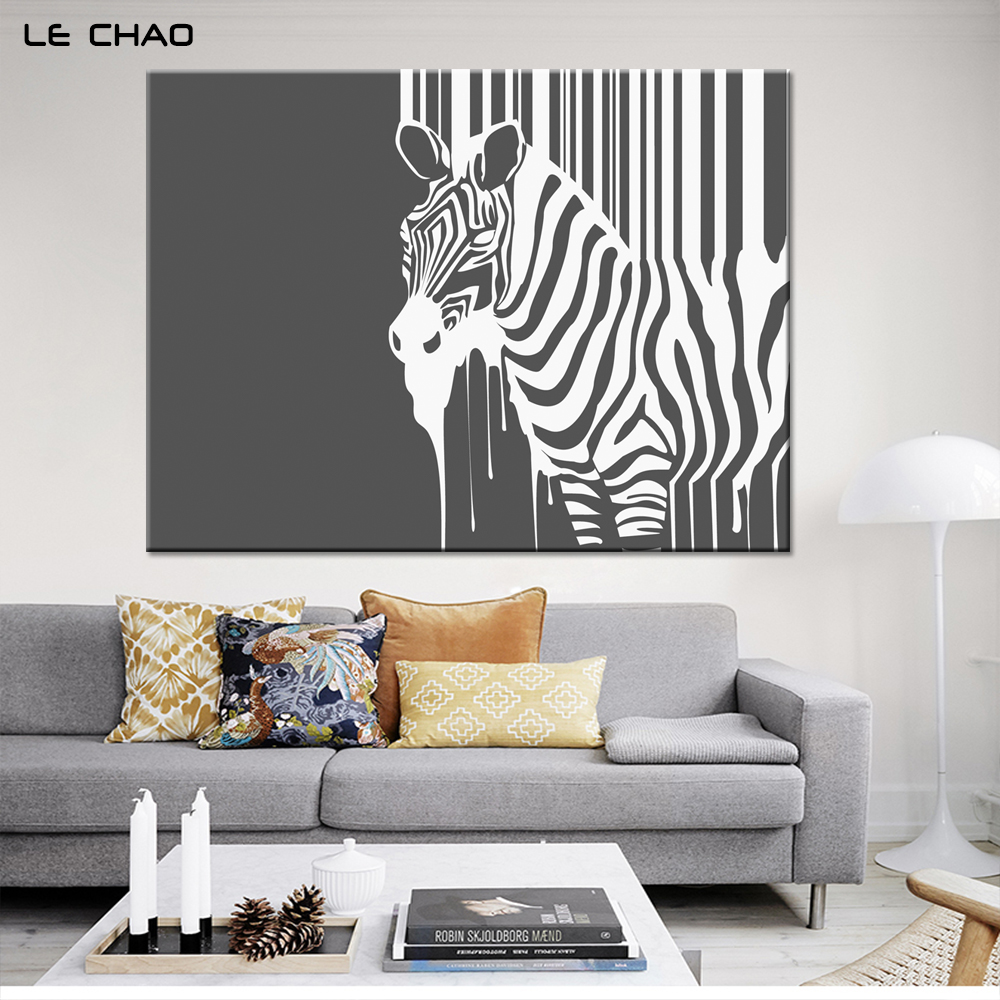 Popular Zebra Print Wall Buy Cheap Zebra Print Wall Lots From