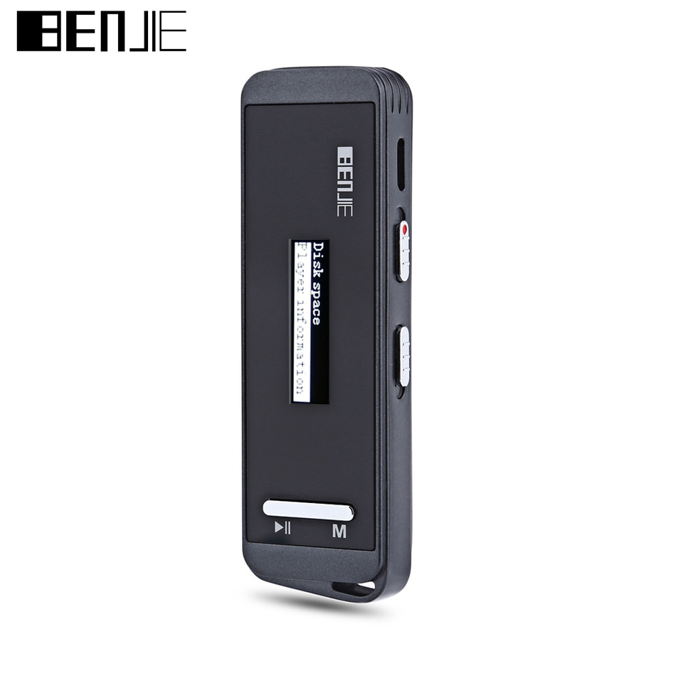 Original Portable BENJIE N9000 MP3 Audio Music Player With 8GB Digital Voice Recorder Lossless HiFi Sound