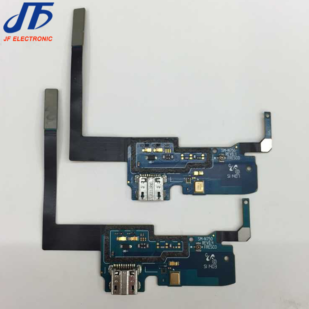 10pcs Lot For Samsung Galaxy Note 3 Neo Lite N750 N7505 N7506 Micro Road Gear 1 Amplifier Head Cabinet Hitam Usb Charger Charging Port Dock Connector Flex Cable