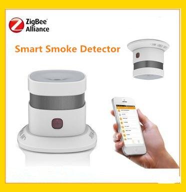 bilder für Großen Rabatt Drahtlosen Zigbee Smart home rauchmelder-feuersignal gesteuert durch mobile anwendung