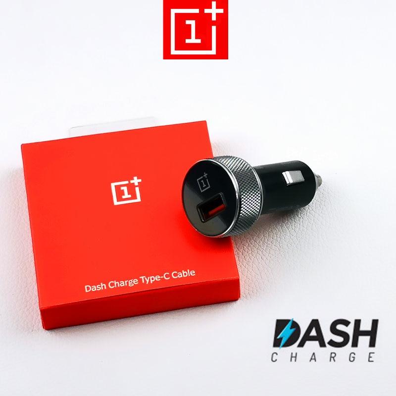 100% Original Oneplus 5T dash Car charger DC01B Usb Fast Charge Car-Charger For Oneplus 6 6t 5 3t 3 One plus OPPO smartphone