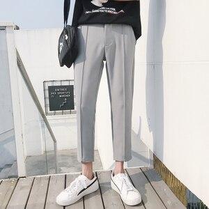 Image 3 - Мужские повседневные шаровары в японском стиле, черные/хаки свободные брюки в стиле хип хоп, большие размеры, 2018, штаны в японском стиле