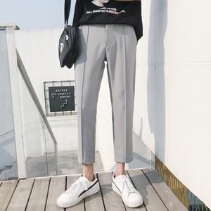 Image 3 - 2018 Giapponese Del Cotone Degli Uomini di Casual Pantaloni Stile Harem Pantaloni di Tendenza di Modo di Stile di Hip Hop Sciolti di Grandi Dimensioni Nero/Cachi Pantaloni M 3XL