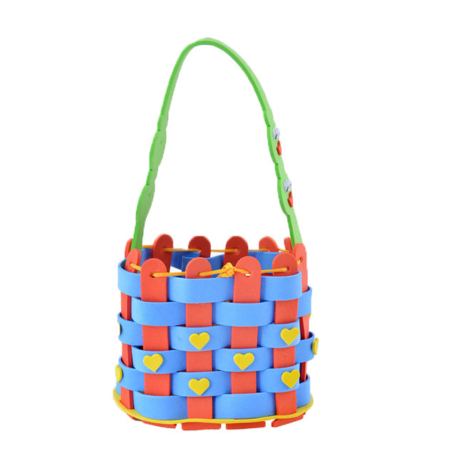 Online shop 4 style do it yourself eva woven basket kids children 4 style do it yourself eva woven basket kids children kindergarten educational arts and diy crafts toys solutioingenieria Gallery