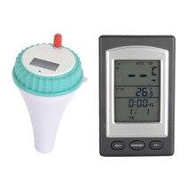 Беспроводной термометр в бассейне джакузи дома плавать спа измеритель температуры воды календарь