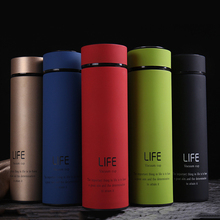 500ML Thermos Tea Bottle Stainless Steel Vacuum Flask with Tea Strainer thermo Insulated Drinking Cups Thermal Travel Coffee Mug