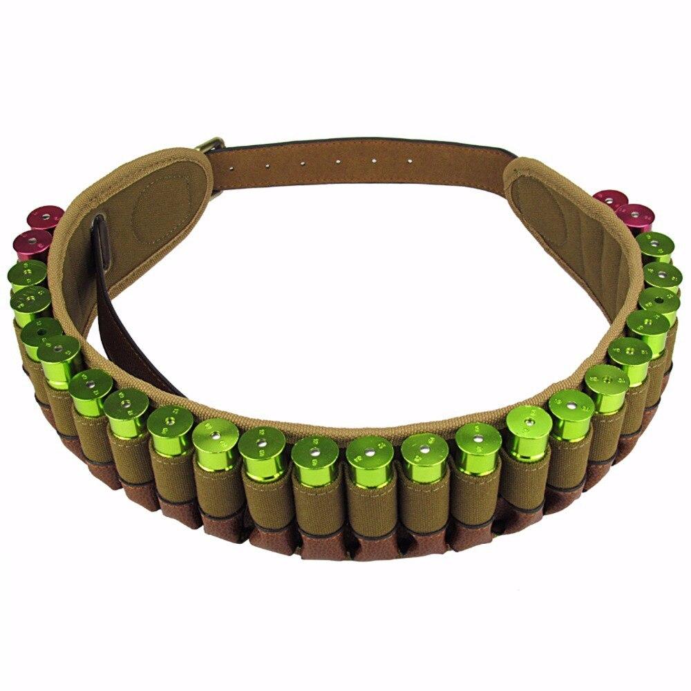 Tourbon Lovecké zbraně Příslušenství Brokovnice 12 Gauge Ammo pásek Taktické střelnice Cartridge Shell Holder 25 Rounds Carrier