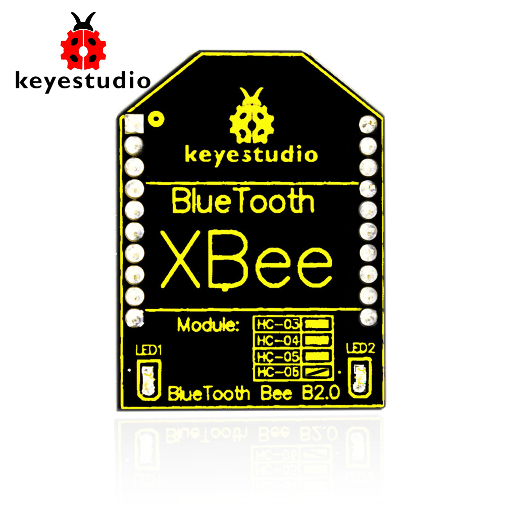 Free shipping! NEW Keyestudio <font><b>HC</b></font>-<font><b>06</b></font> Bluetooh XBee Bluetooth Wireless Module 2.0 for Arduino image