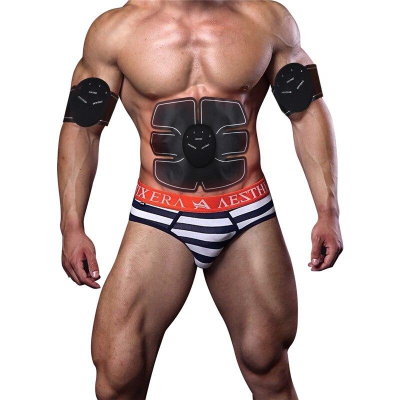 Основная машина для EMS, беспроводной стимулятор мышц, тренажер для умного фитнеса, тренировки живота, электрические наклейки для снижения в...